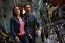"This film publicity image released by Universal Pictures shows Jordana Brewster, left, and Paul Walker in a scene from ""Fast & Furious 6."" (AP Photo/Universal Pictures, Giles Keyte)"