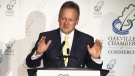 Bank of Canada Governor Stephen Poloz speaks at the Oakville Chamber of Commerce on Wednesday, June 19, 2013.