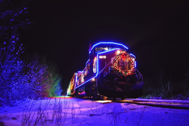 Canadian Pacific Holiday Train visits Windsor