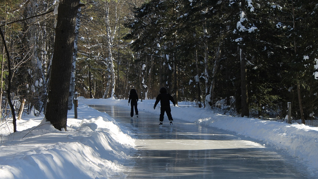 Arrowhead Park Ice Skating Trail Open Ctv Barrie News