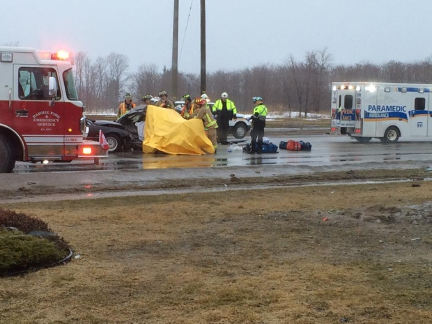 Fatal crash in Barrie | CTV Barrie News
