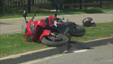 Motorcycle Crash Vaughan