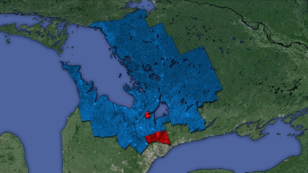 Liberal Mpps Break Into Sea Of Tory Blue Ctv Barrie News