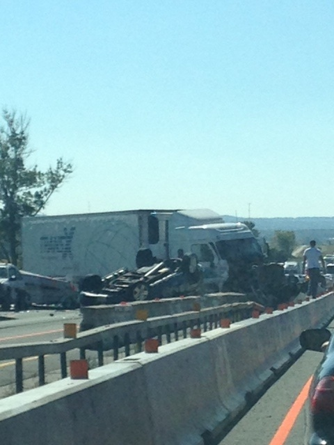 Accident on Hwy. 400 northbound at Hwy. 88 | CTV Barrie News