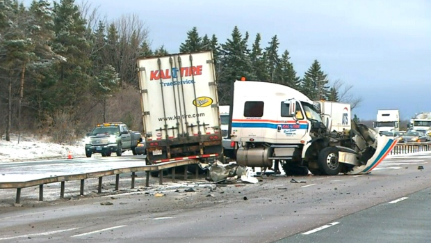 Accident On Highway  Vancouver Island Today