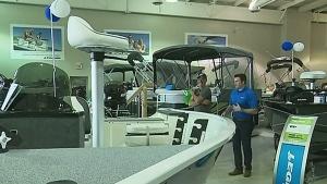 Boating sales soar to start the season