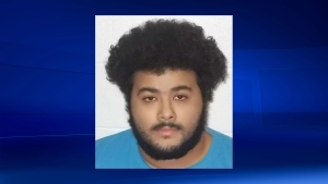 Barrie police are looking for Sayed Mabase-Zamani, who is wanted on a Canada-wide warrant. (Police handout)