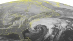 NOAA satellite image taken Feb. 8, 2016 at 12:45 AM EST. (Weather Underground via AP)