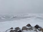 Lake Simcoe can be seen near Georgina Island, Ont. on Friday, Feb. 12, 2016. (Heather Butts/ CTV Barrie)