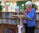 Liz Sandals announces $24 million for a new school in Meadford, Ont. on April 29, 2016.