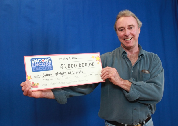Barrie man wins $1M on Encore ticket | CTV Barrie News