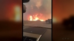 Wildfire Explosion