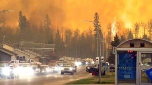 CTV National News: Raging wildfires in Alberta