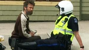 CTV Atlantic: Officer caught on camera