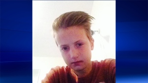 Cameron Abernethy can be seen in this undated photo. (Barrie Police Service)
