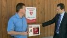 CTV Barrie: Outdoor defibrillator
