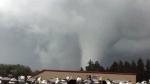 Extended: Funnel Cloud in Ponoka, Alta.