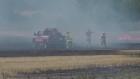 Extended: Crews battle grass fire in Essa