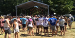 Hundreds of people take in a concert at the WayHome Music and Arts Festival in Oro-Medonte, Ont. on Friday, July 22, 2016. (Brandon Rowe/ CTV Barrie)