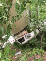 Plane crash near Washago, July 24 2016