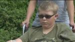 Boy, 10, shot in leg