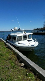 South Simcoe Police marine vessel