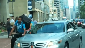 CTV News Channel: Toronto collision goes viral