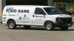The Barrie Food Bank received a new donated van on Tuesday, Aug. 23, 2016 in Barrie, Ont. (CTV Barrie)
