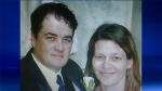 Geoff Gaston, left, and his wife, Tanya Gaston, can be seen in this undated photo submitted before a Barrie, Ont. court as an exhibit.