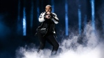 Drake performs at the 2016 iHeartRadio Music Festival - Day 1 held at T-Mobile Arena on Friday, Sept. 23, 2016, in Las Vegas. (John Salangsang/AP)