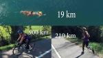 Athlete prepares for grueling 1,129-km triathlon