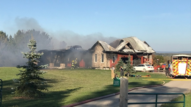 Clearview house fire